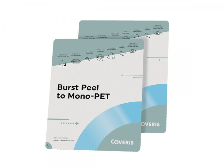Burst Peel to Mono PET