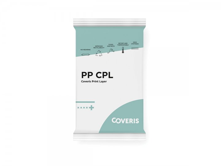 PP + CPL (Coveris Print Layer)