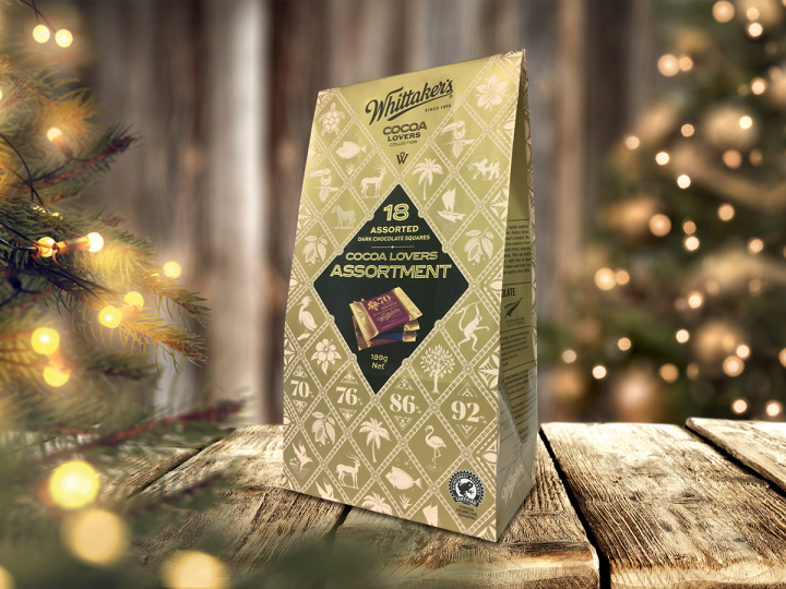 Coveris brings Christmas spirit to famous chocolate brand's packaging